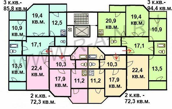Леоновский парк схема квартир