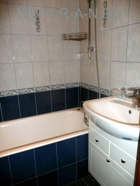 Ремонт ванной комнаты в 9 этажке